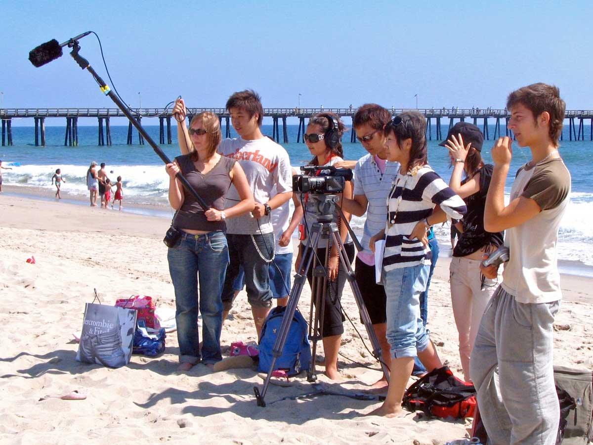 Campamento de cine en Los Angeles